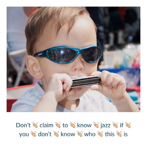 Jazz Music Meme with Boy Playing Harmonica Meme