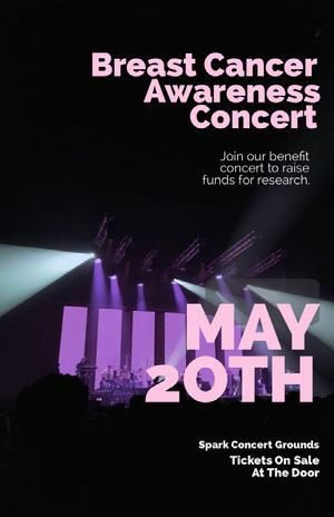 MAY 2OTH Concertposter