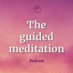 Pink Sunset Meditation Podcast Artwork Sunset