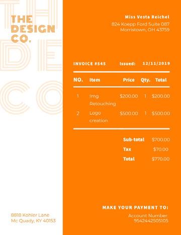 Design Co Business Quotation Modelo de orçamento