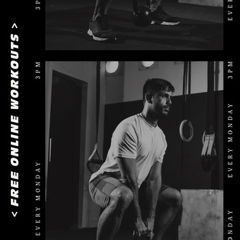 Free Online Workouts Instagram Square COVID-19 Re-opening