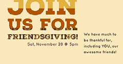 Gold and Beige Warm Toned Thnksgiving Facebook Banner Event Cover Event Banner