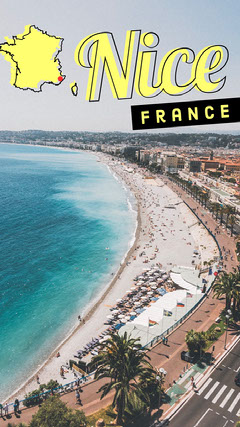 Nice France Snapchat geo filter France