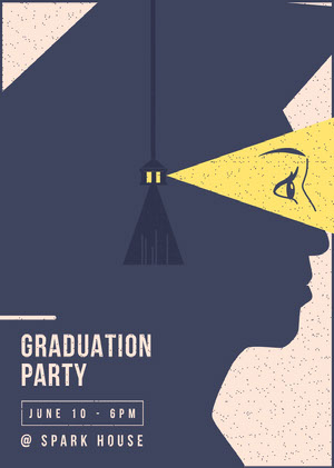 GRADUATION PARTY Graduation Card
