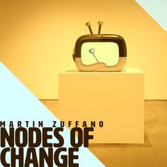 Pale Cold Tones Corner ShapesMartin Zuffano Nodes of change Album Art Cover Band