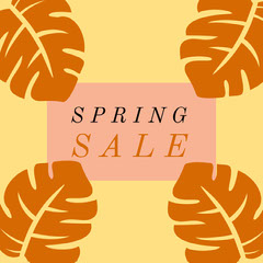 Spring Sale Instagram Square Seasonal