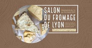 Brown Cheese Fair Facebook Event Cover Bannière