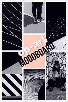 op-art Moodboard Art