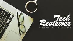 Tech Reviewer Youtube Channel Art Tech