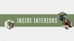 Green Interior Design Youtube Channel Art Interior Design