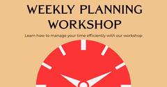 Weekly planning workshop Instagram Landscape Lifestyle
