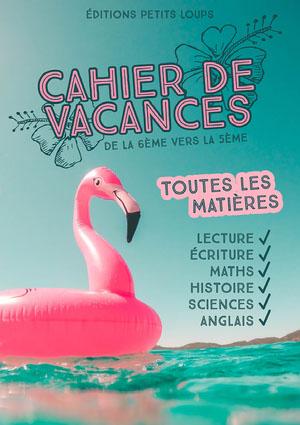 Pink Flamingo Exercise Book Cover Couverture de magazine