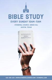 BIBLE STUDY Flyer