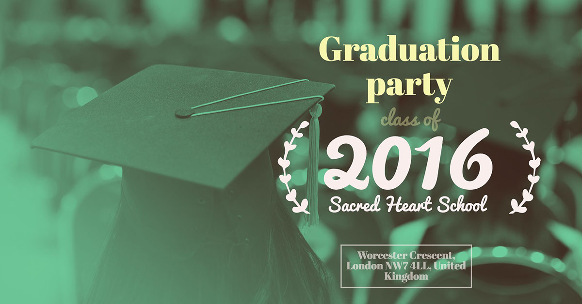 Graduation party Graduation party 2016 Worcester Crescent, London NW7 4LL, United Kingdom Sacred Heart School class of