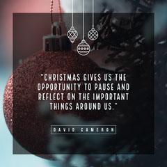 Dark Toned, Christmas Quote, Instagram Post Christmas