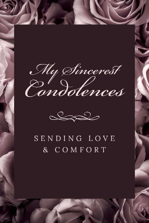 Messages Of Condolence For Your Sympathy Card Adobe Spark