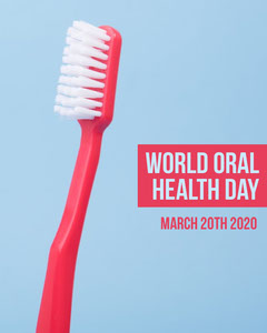 World Oral Health Day Instagram Square Health Posters