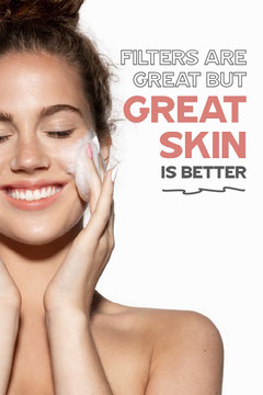 Girl Cleansing Face Great Skin Pinterest Post Cleaning Service