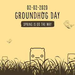 groundhog day instagram Spring