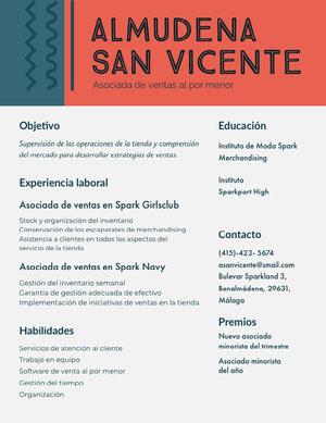Almudena San Vicente Currículum vitae
