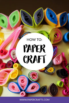 Colorful Paper Craft Pinterest Crafts