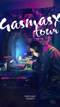 artist tour instagram story Neon