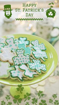 Happy <BR>St. Patrick's <BR>Day Seasonal