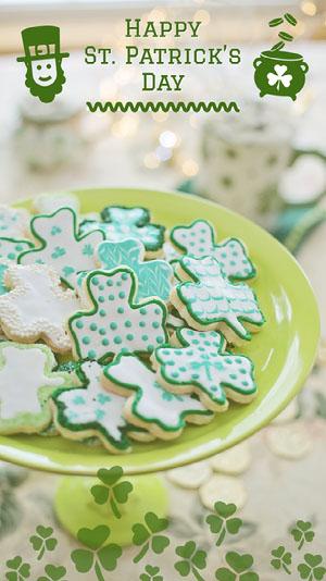 Green Happy Saint Patrick Day Social Post St. Patrick's Day Templates