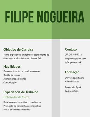 Filipe Nogueira Currículo