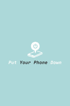 Your Phone Down Pinterest Teal
