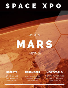 Mars Magazine Cover Science