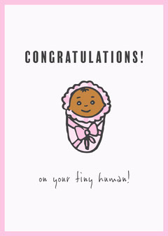 Congratulations New Baby Baby's First Year