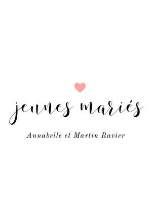white just married wedding announcements  Invitation de fiançailles