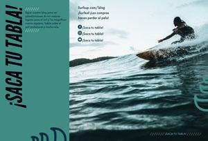 surfs up travel brochures  Folleto