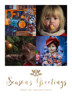 Season's Greetings Christmas