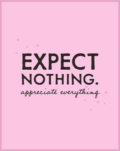 expect nothing. Stars