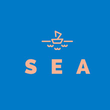 Orange and Blue Game Logo Logo