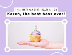 Karen, the best boss ever! Birthday