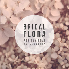 Floral Bridal Instagram Square Dress