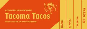 Tacoma Tacos   Eintrittskarte