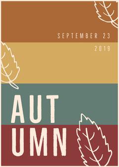 Aut<BR>umn Autumn