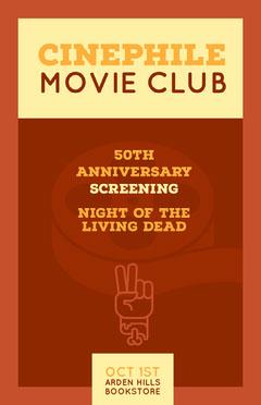 poster Movie Night Flyer