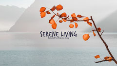 Serene Living Youtube Channel Art Ocean