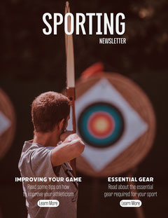 Archery Sporting Newsletter Sports