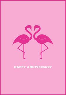 Happy Anniversary Cartes