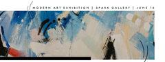 Modern art exhibition | Spark Gallery | June 16 Exhibition