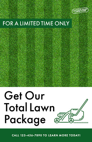 Modern Total Lawn Care Business Flyer Lawn Care Business Flyer