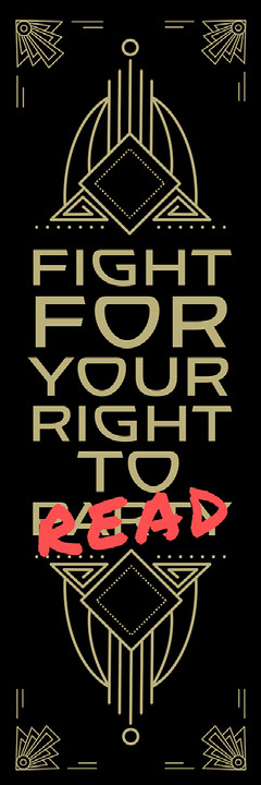 Black, Gold and Red, Fight For Your Right, Bookmark Jokes