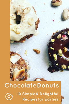 Brown Chocolate Donuts Pinterest Donut