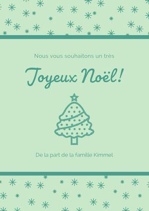 Joyeux Noël! Carte de Noël